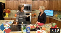 Rita on AZTV's Sandy and Friends - Flavored Salts and Sauces