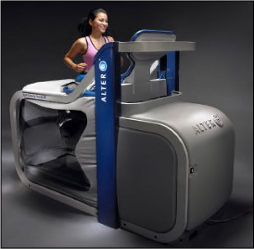 AlterG NASA Anti-Gravity Treadmill