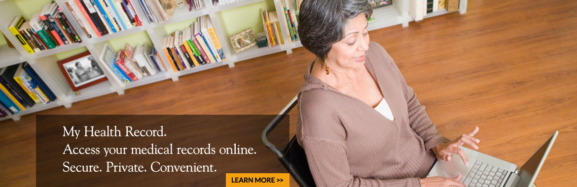 Access your medical records online