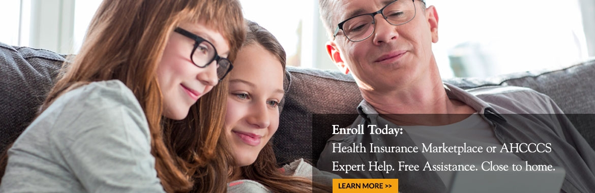 Health Insurance Marketplace or AHCCCS Expert Help