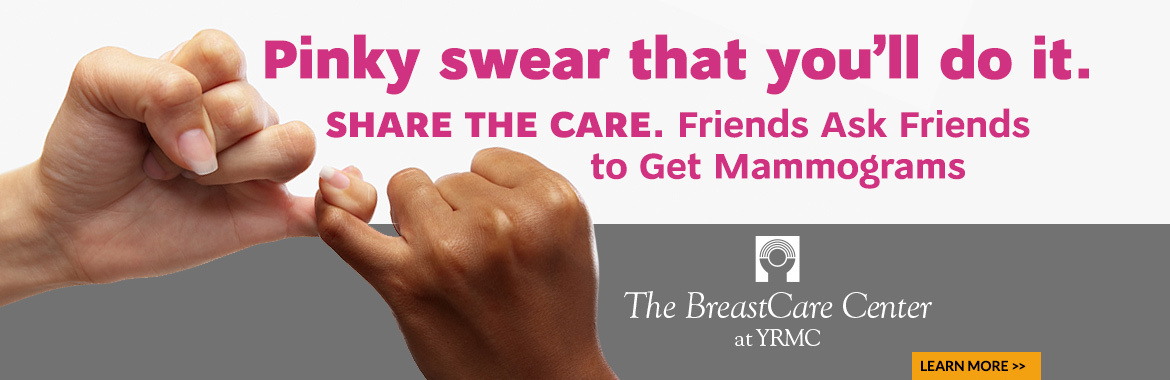 Friends Tell Friends to Get a Mammogram