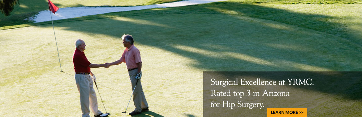 Rated top 3 in Arizona for Hip Surgery